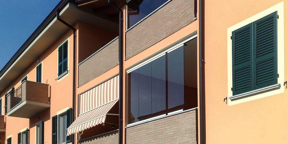 Panoramia per chiusura balcone 2