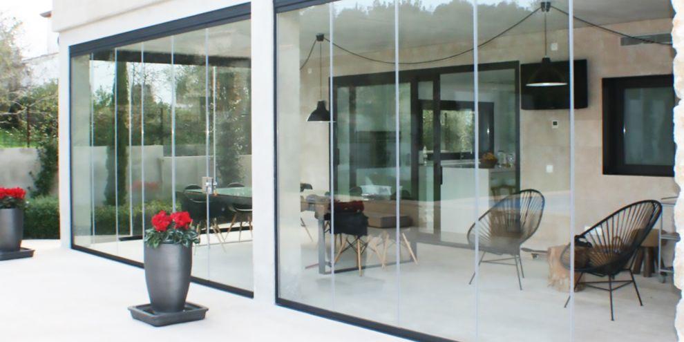 Panoramia vetrate per locale relax
