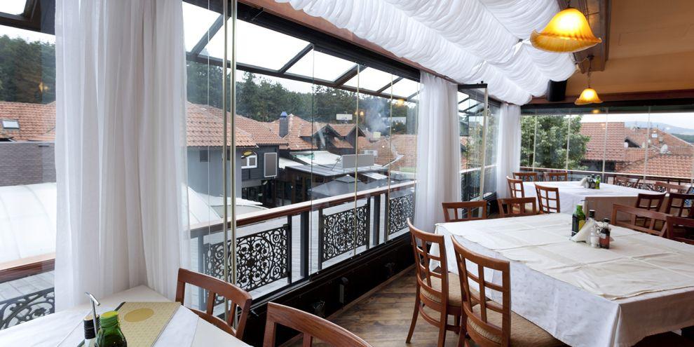 Panoramia vetrate per locale ristorante 2