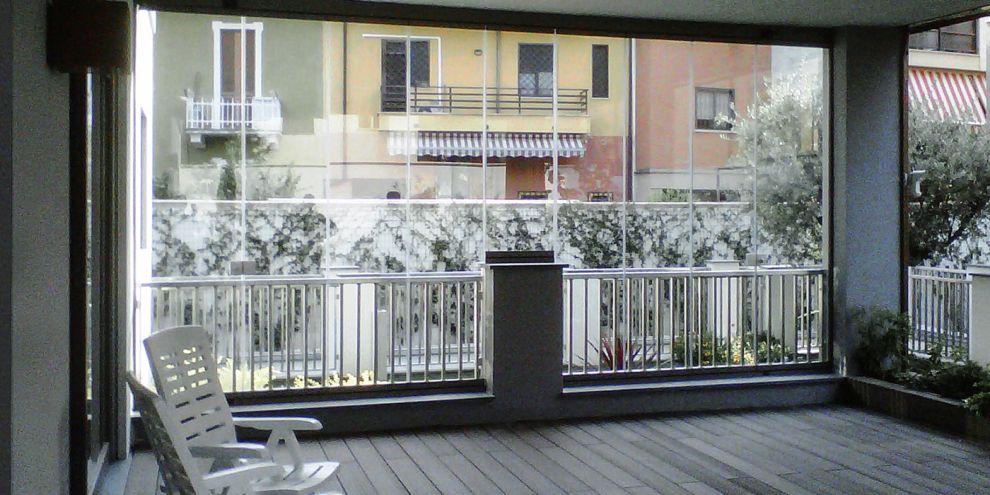 Panoramia per chiusura balcone 1