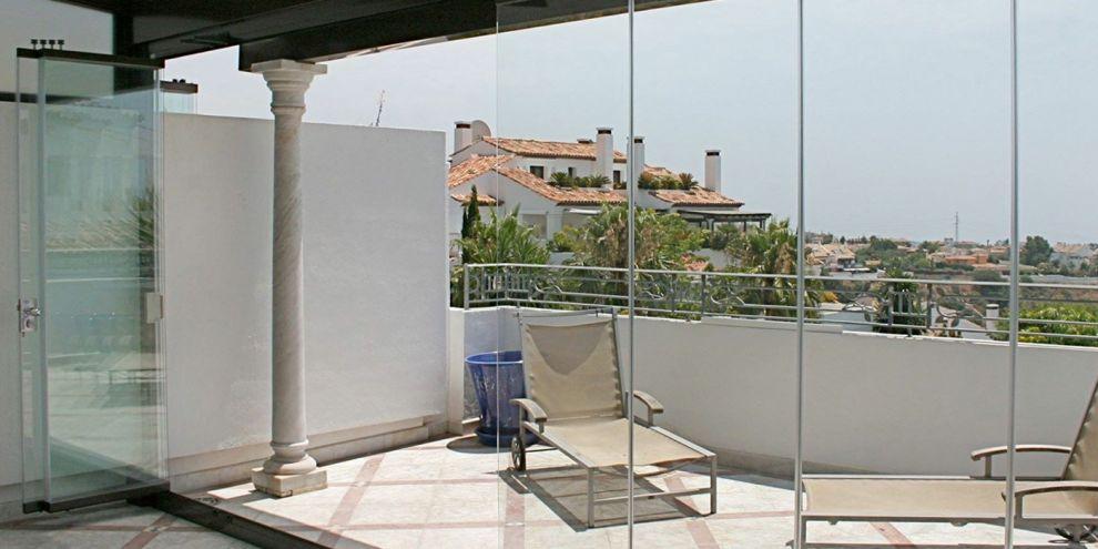 Panoramia per chiusura portico 1